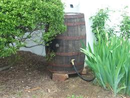 Stomrwater rain barrel